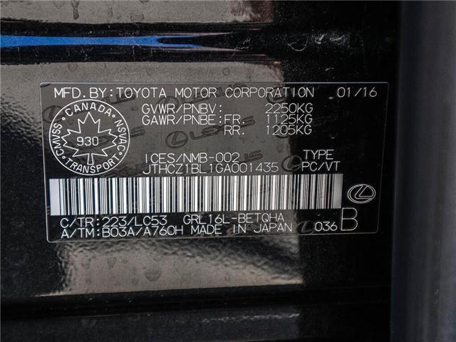 2016 Lexus GS 350 Base (Stk: L0418) in Ottawa - Image 25 of 27