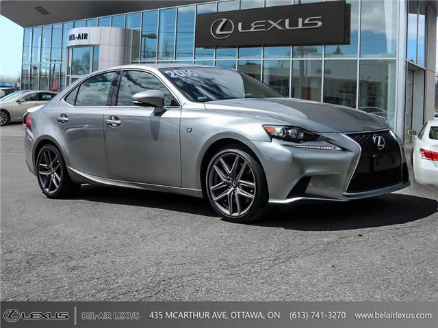 2016 Lexus IS 350 Base (Stk: L0529) in Ottawa - Image 3 of 28