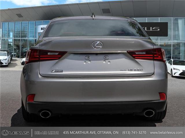 2016 Lexus IS 350 Base (Stk: L0529) in Ottawa - Image 6 of 28