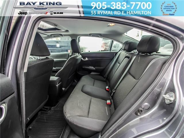 2014 Honda Civic EX (Stk: 187206A) in Hamilton - Image 18 of 23