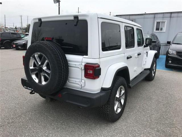 2019 Jeep Wrangler Unlimited Sahara (Stk: W18660) in Newmarket - Image 5 of 23