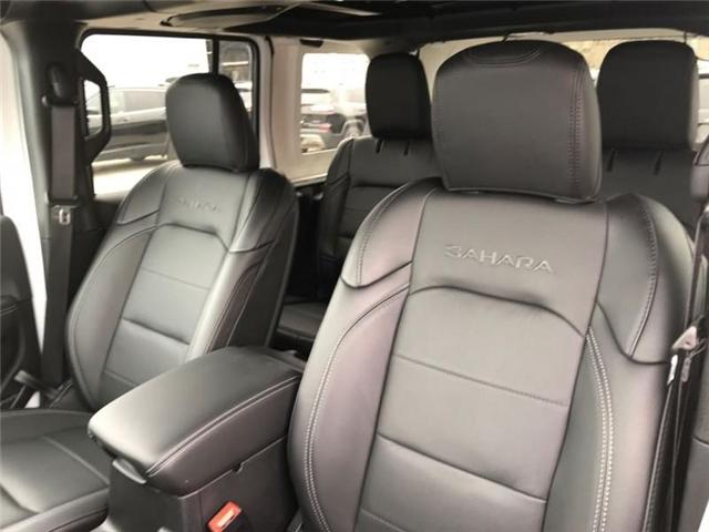 2019 Jeep Wrangler Unlimited Sahara (Stk: W18660) in Newmarket - Image 21 of 23