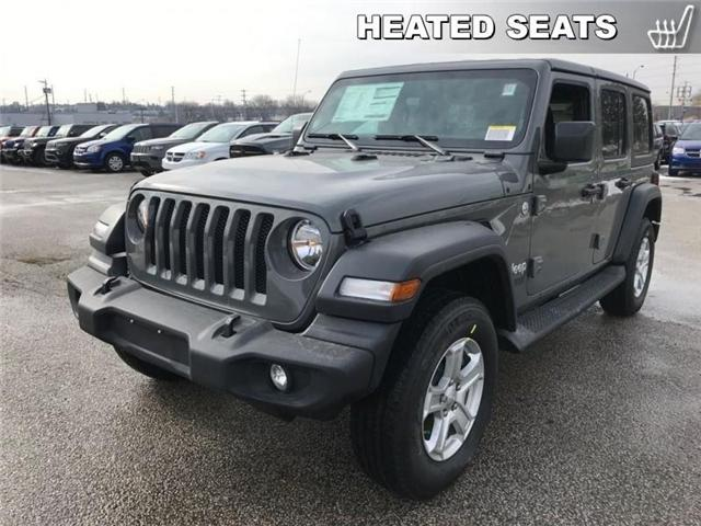 2019 Jeep Wrangler Unlimited Sport (Stk: W18680) in Newmarket - Image 1 of 17