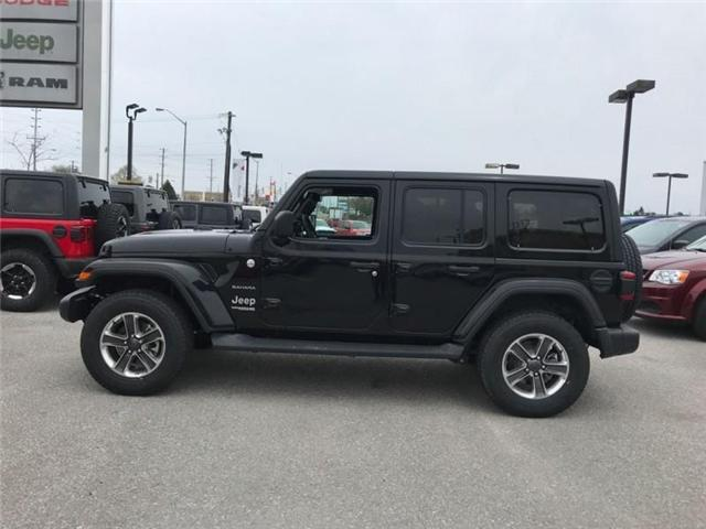 2019 Jeep Wrangler Unlimited Sahara (Stk: W18837) in Newmarket - Image 2 of 22