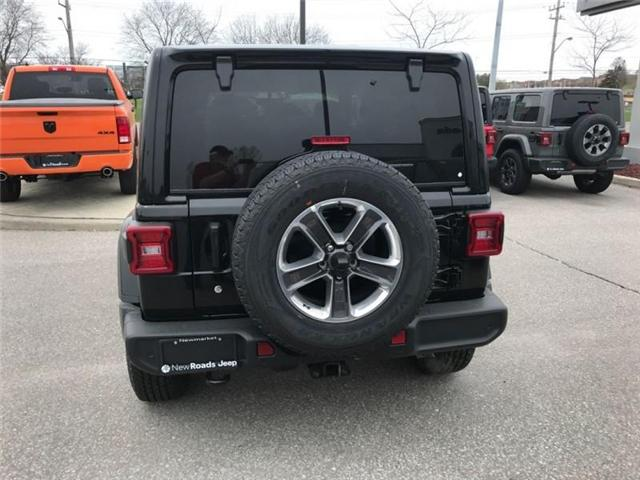 2019 Jeep Wrangler Unlimited Sahara (Stk: W18837) in Newmarket - Image 4 of 22