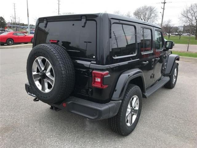 2019 Jeep Wrangler Unlimited Sahara (Stk: W18837) in Newmarket - Image 5 of 22