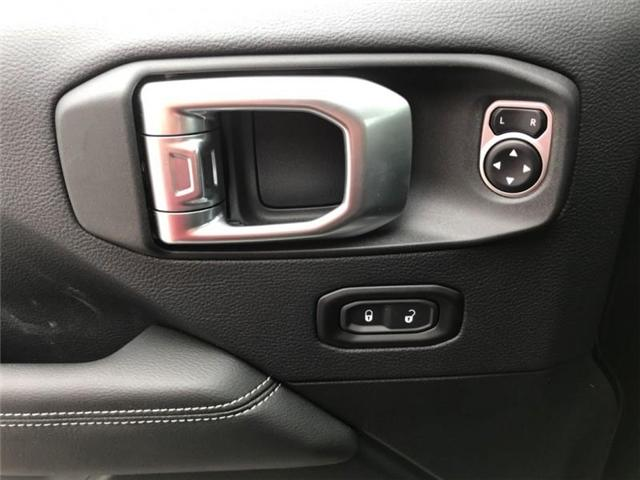2019 Jeep Wrangler Unlimited Sahara (Stk: W18837) in Newmarket - Image 13 of 22