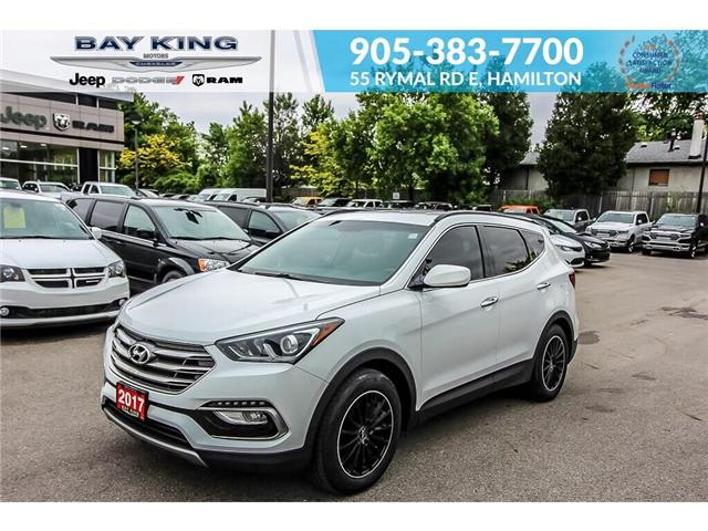 2017 Hyundai Santa Fe Sport 2.4 Base (Stk: 197154A) in Hamilton - Image 1 of 17