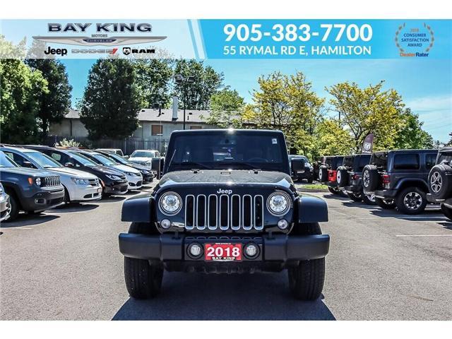 2018 Jeep Wrangler JK Unlimited Sahara (Stk: 6855R) in Hamilton - Image 2 of 19