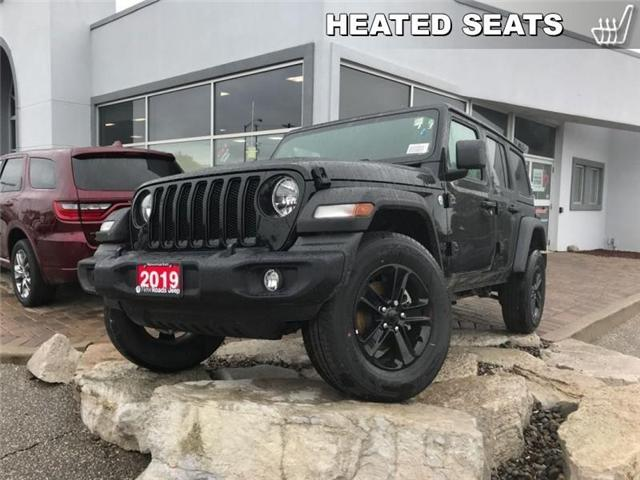 2019 Jeep Wrangler Unlimited Sport (Stk: W18939) in Newmarket - Image 1 of 18