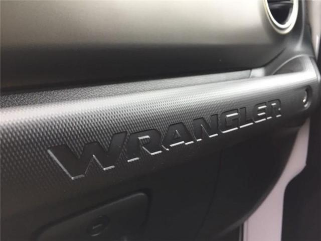2019 Jeep Wrangler Rubicon (Stk: W18023) in Newmarket - Image 21 of 22