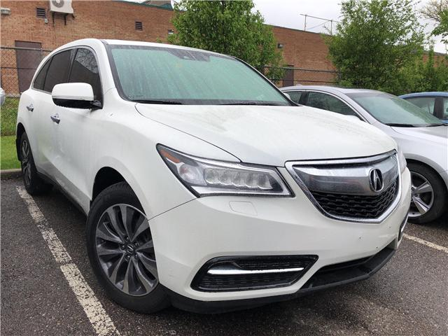 2015 Acura MDX Technology Package (Stk: 504880P) in Brampton - Image 1 of 25