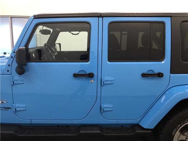2018 Jeep Wrangler JK Unlimited Sahara (Stk: 207172) in Lethbridge - Image 2 of 22