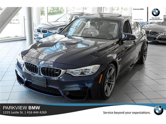 2016 BMW M3 Base (Stk: 55409A) in Toronto - Image 1 of 22