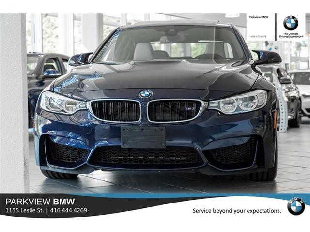 2016 BMW M3 Base (Stk: 55409A) in Toronto - Image 2 of 22