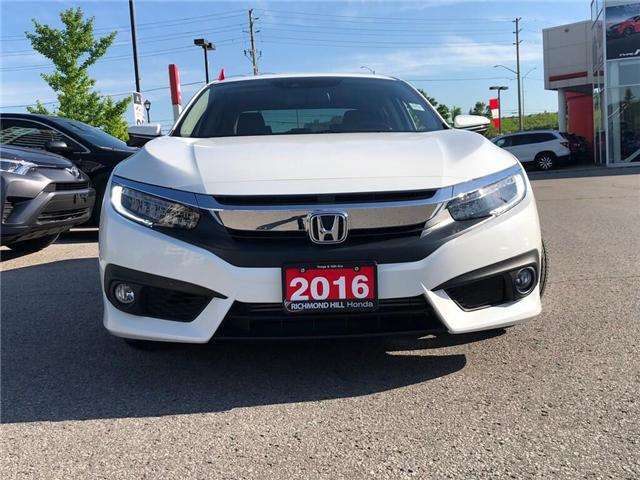 2016 Honda Civic Touring (Stk: 190299P) in Richmond Hill - Image 2 of 25