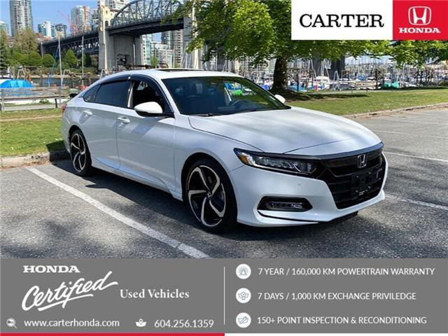 2018 Honda Accord Sport 2.0T (Stk: 9K02731) in Vancouver - Image 1 of 26