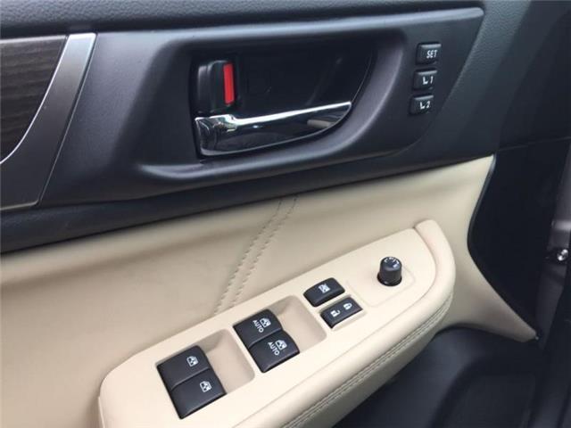 2019 Subaru Legacy 2.5i Limited Eyesight CVT (Stk: 32191) in RICHMOND HILL - Image 16 of 18
