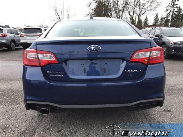 2019 Subaru Legacy 4dr Sdn 2.5i Touring Eyesight CVT (Stk: 32564) in RICHMOND HILL - Image 4 of 19