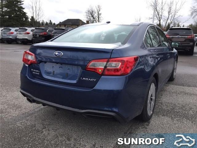 2019 Subaru Legacy 4dr Sdn 2.5i Touring Eyesight CVT (Stk: 32564) in RICHMOND HILL - Image 5 of 19