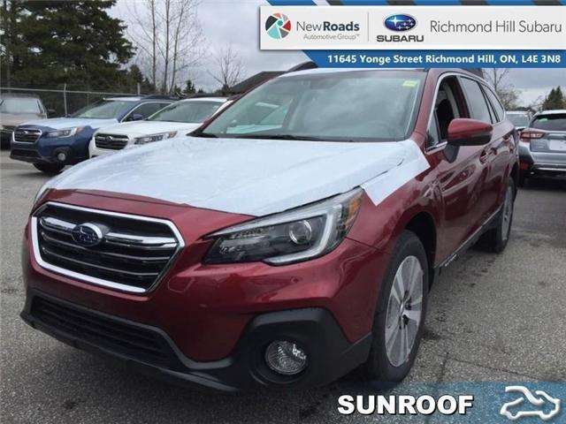 2019 Subaru Outback 2.5i Limited Eyesight CVT (Stk: 32612) in RICHMOND HILL - Image 1 of 18