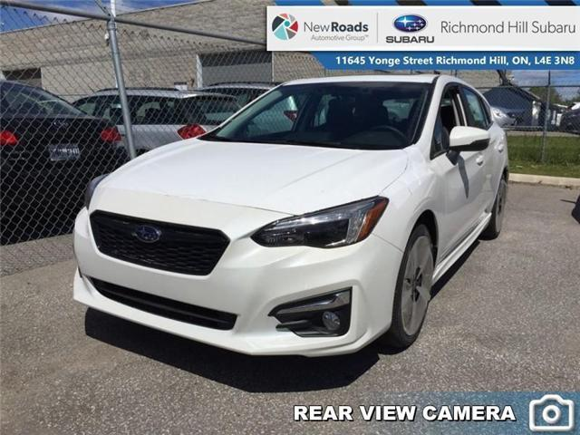 2019 Subaru Impreza 5-dr Sport-Tech Eyesight AT (Stk: 32625) in RICHMOND HILL - Image 1 of 22
