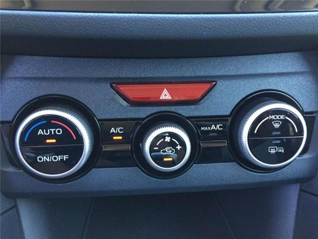 2019 Subaru Crosstrek  Sport CVT w/EyeSight Pkg (Stk: 32701) in RICHMOND HILL - Image 17 of 22