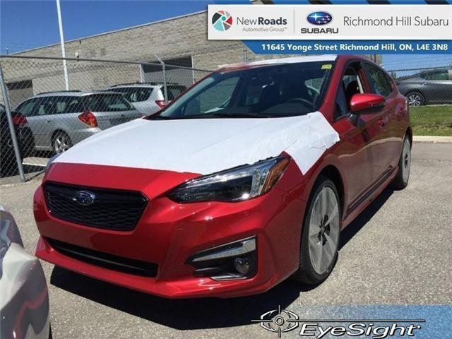 2019 Subaru Impreza 5-dr Sport-Tech Eyesight AT (Stk: 32698) in RICHMOND HILL - Image 1 of 22