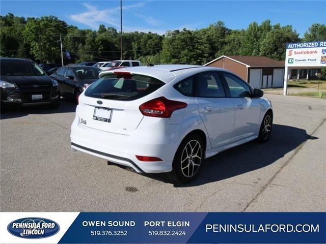 2018 Ford Focus SE (Stk: 18FO22) in Owen Sound - Image 5 of 14