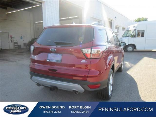 2018 Ford Escape SE (Stk: 18ES112) in Owen Sound - Image 5 of 16