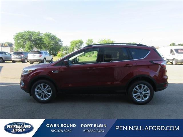 2018 Ford Escape SE (Stk: 18ES112) in Owen Sound - Image 8 of 16