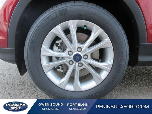 2018 Ford Escape SE (Stk: 18ES112) in Owen Sound - Image 9 of 16