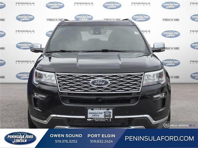 2019 Ford Explorer Platinum (Stk: 19EX07) in Owen Sound - Image 2 of 24
