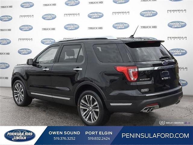 2019 Ford Explorer Platinum (Stk: 19EX07) in Owen Sound - Image 4 of 24