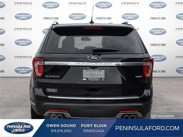 2019 Ford Explorer Platinum (Stk: 19EX07) in Owen Sound - Image 5 of 24