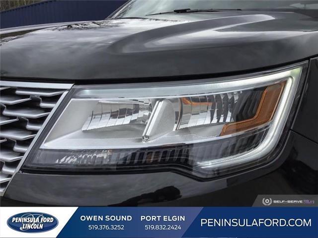 2019 Ford Explorer Platinum (Stk: 19EX07) in Owen Sound - Image 8 of 24
