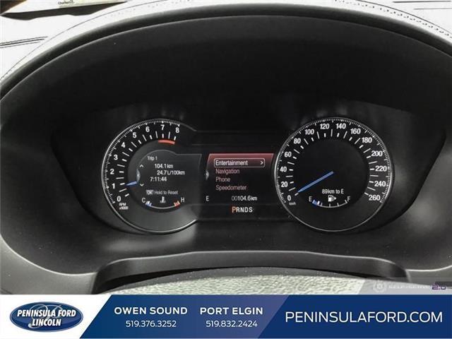 2019 Ford Explorer Platinum (Stk: 19EX07) in Owen Sound - Image 14 of 24