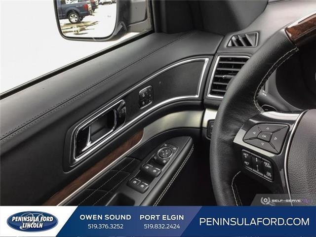 2019 Ford Explorer Platinum (Stk: 19EX07) in Owen Sound - Image 16 of 24