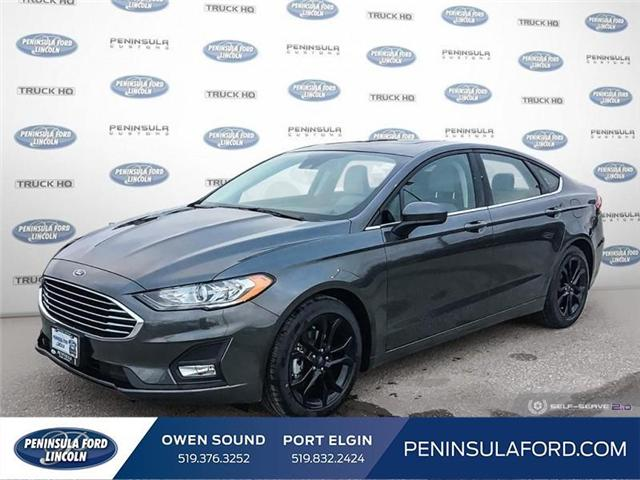 2019 Ford Fusion SE (Stk: 19FN01) in Owen Sound - Image 1 of 24