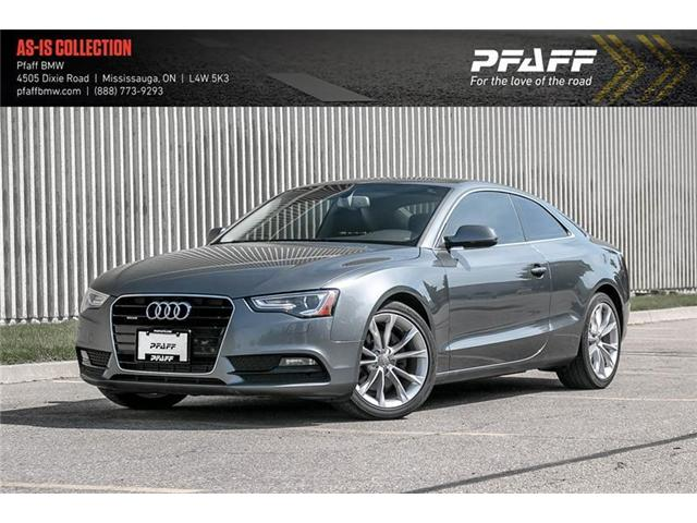 2013 Audi A5 2.0T Premium (Stk: 22404A) in Mississauga - Image 1 of 22