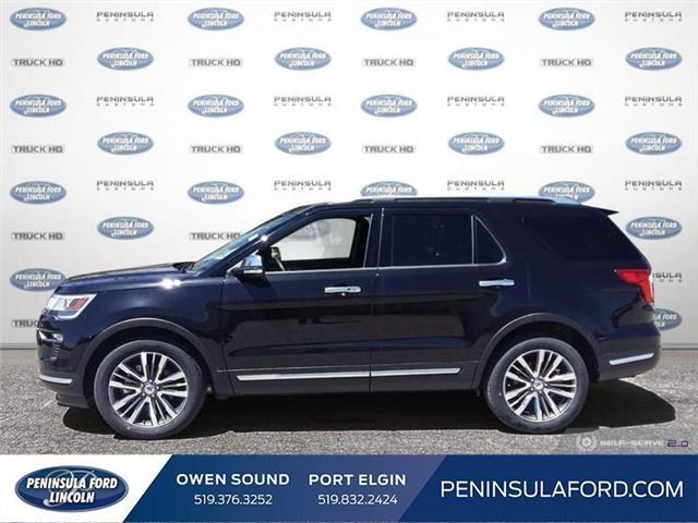 2019 Ford Explorer Platinum (Stk: 19EX10) in Owen Sound - Image 3 of 24