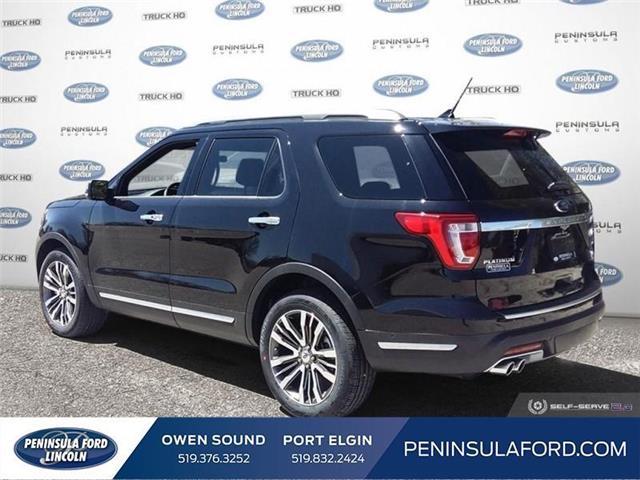 2019 Ford Explorer Platinum (Stk: 19EX10) in Owen Sound - Image 4 of 24