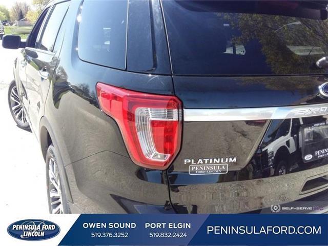 2019 Ford Explorer Platinum (Stk: 19EX10) in Owen Sound - Image 10 of 24