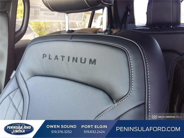 2019 Ford Explorer Platinum (Stk: 19EX10) in Owen Sound - Image 19 of 24