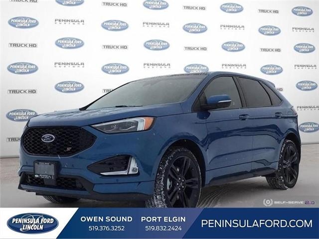 2019 Ford Edge ST (Stk: 19ED19) in Owen Sound - Image 1 of 25