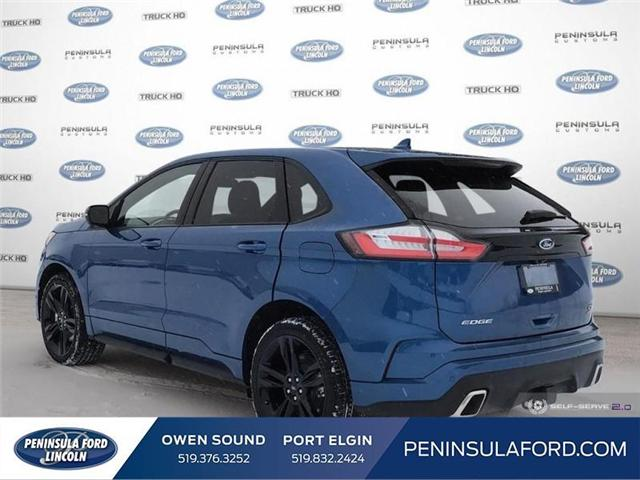 2019 Ford Edge ST (Stk: 19ED19) in Owen Sound - Image 4 of 25