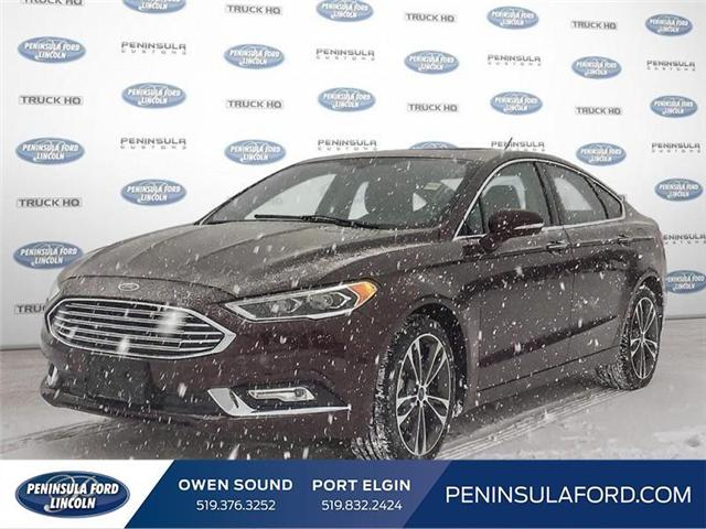 2018 Ford Fusion Titanium (Stk: 1682) in Owen Sound - Image 1 of 25