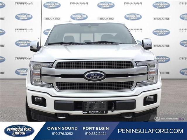 2019 Ford F-150 Platinum (Stk: 19FE62) in Owen Sound - Image 2 of 25