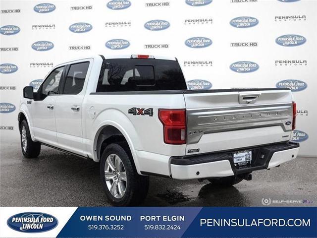 2019 Ford F-150 Platinum (Stk: 19FE62) in Owen Sound - Image 4 of 25