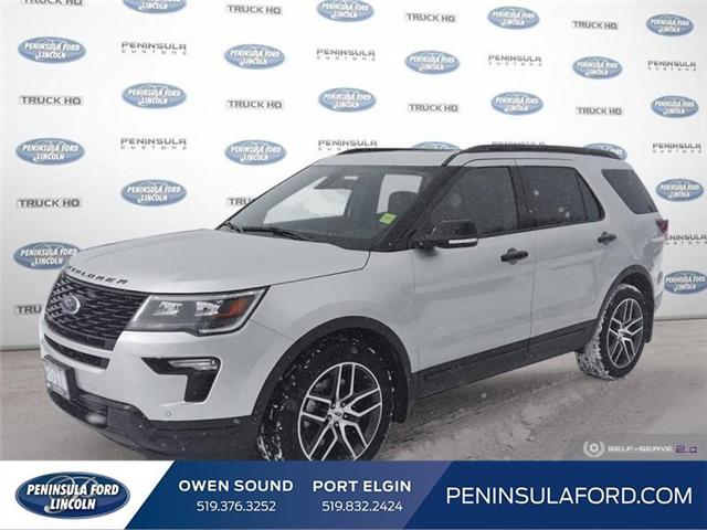 2018 Ford Explorer Sport (Stk: 19FE38A) in Owen Sound - Image 1 of 24